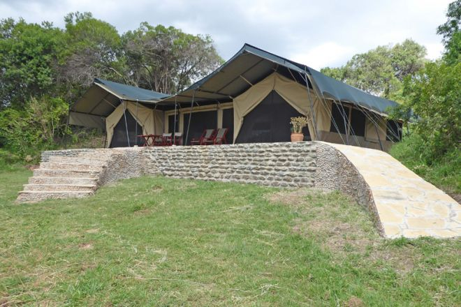 Kicheche Mara Camp Family Tent Two Bedroomed