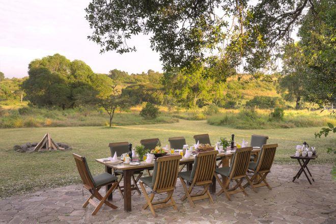 Kicheche Mara Camp Outdoor Dining