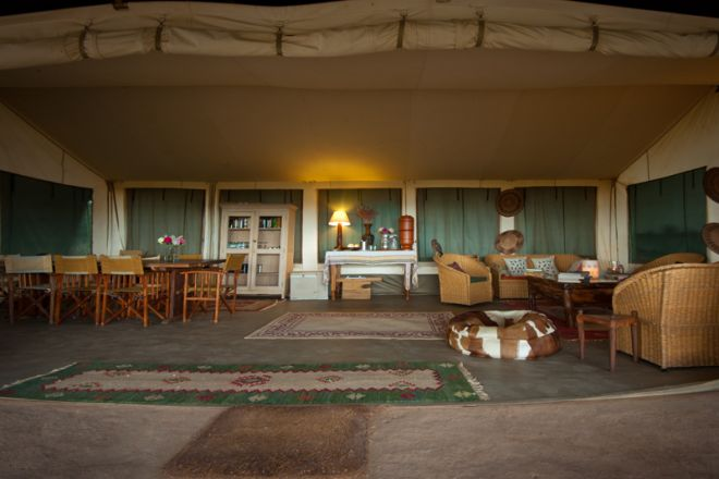Laikipia Wilderness Camp Main Area Front