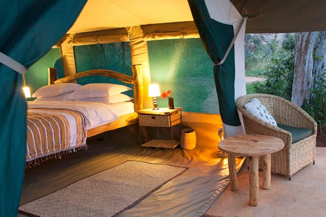 Laikipia Wilderness Camp Tent and Verandah