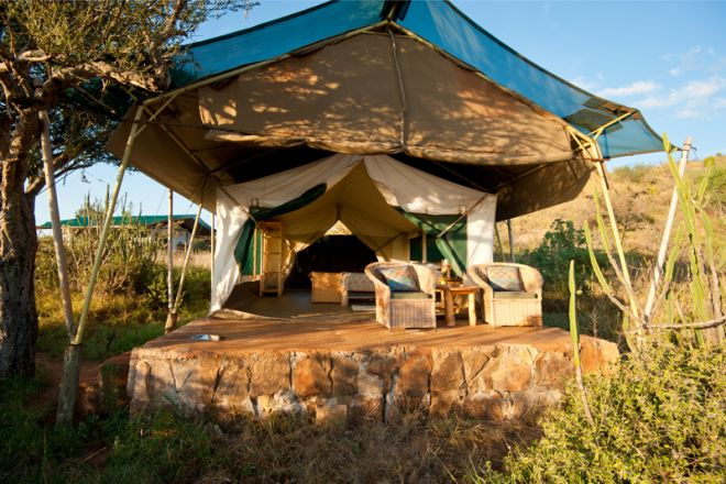 Laikipia Wilderness Camp Tent Front