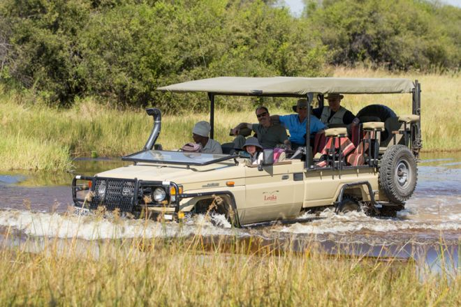 Letaka Private Mobile Safaris Game Drive Water
