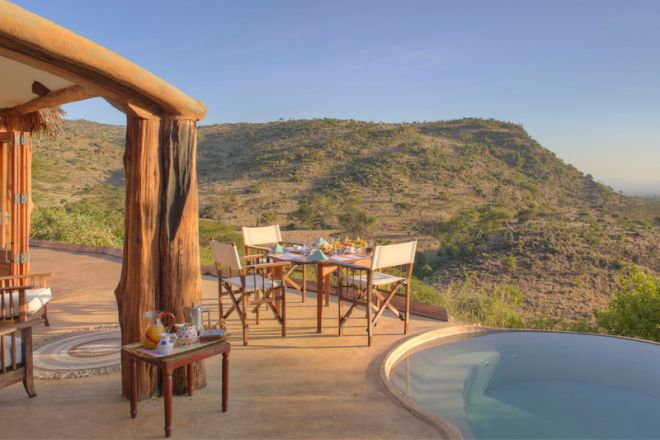 Lewa Wilderness Camp Family Cottage Plunge Pool