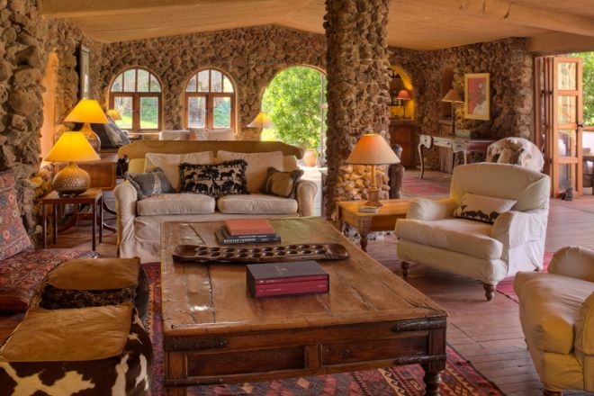 Lewa Wilderness Camp Lounge