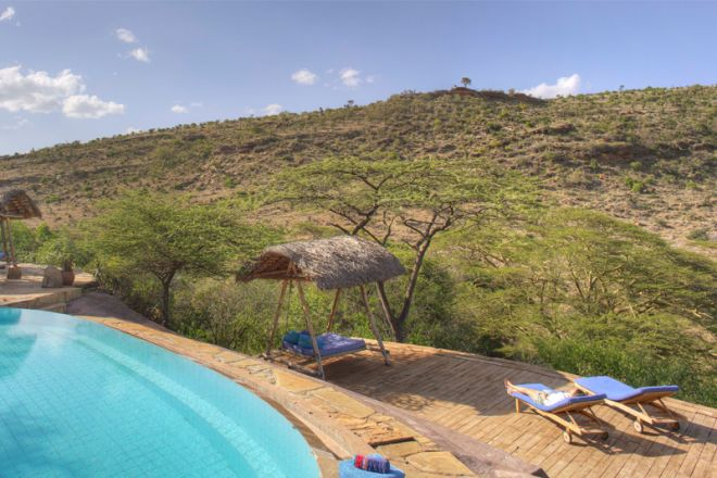 Lewa Wilderness Camp Pool