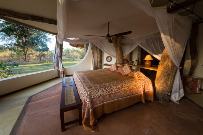 Luangwa Safari House Bedroom