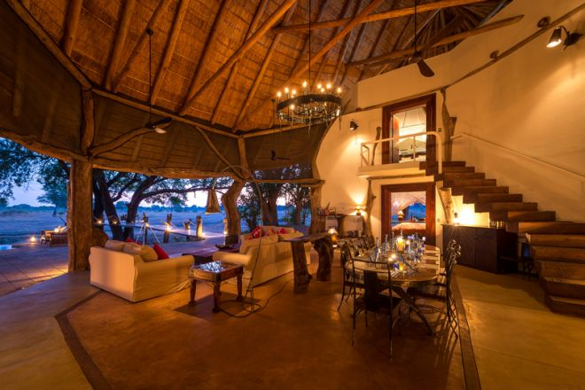 Luangwa Safari House Dining