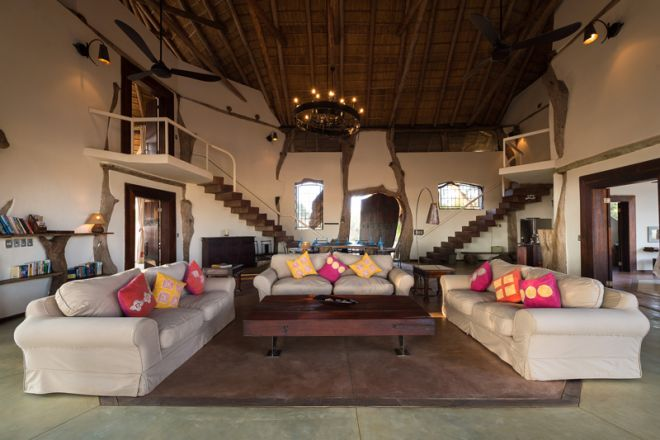 Luangwa Safari House Lounge