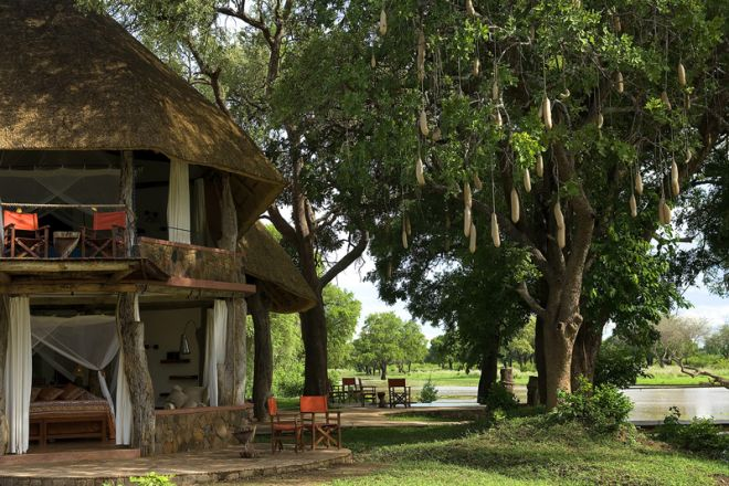Luangwa Safari House Setting