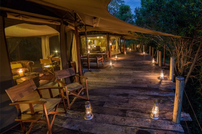 Mara Plains Camp Family Deck