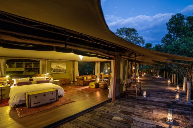 Mara Plains Camp Family Tent