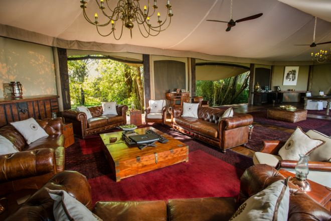 Mara Plains Camp Lounge