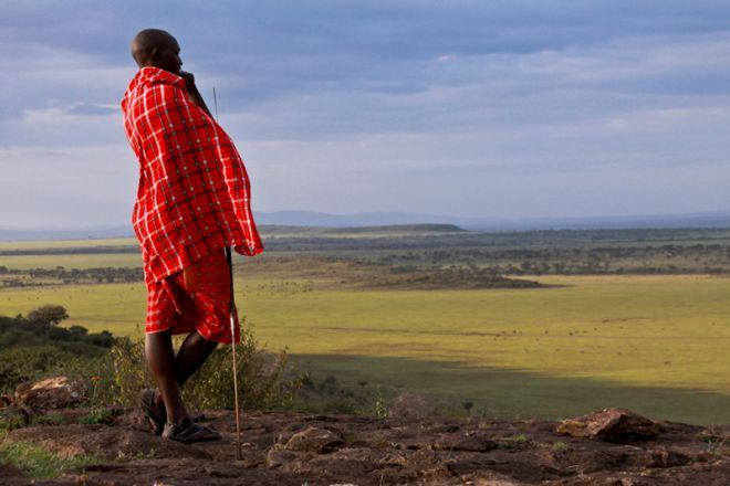 Mara Plains Camp Maasai Landscape