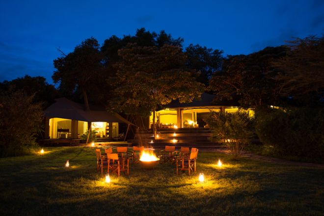 Mara Plains Camp Main Area