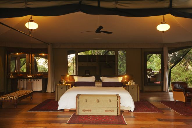Mara Plains Camp Room Face On