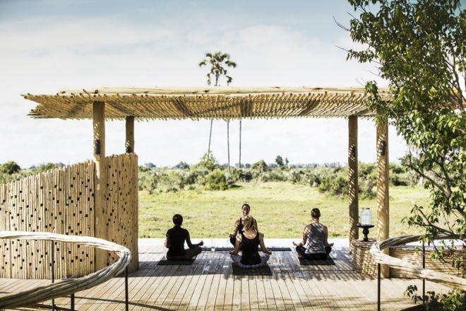 Mombo Camp Yoga