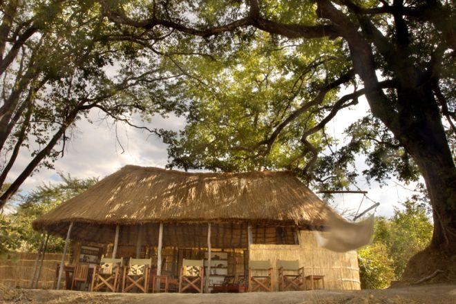 Mwaleshi Camp Sitenje Dining Area