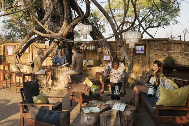 Mwamba Bush Camp Chitenge Bar