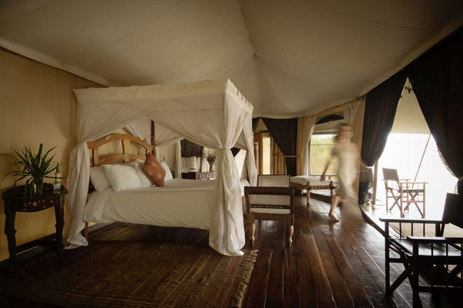 Ngare Serian Camp Tent Interior