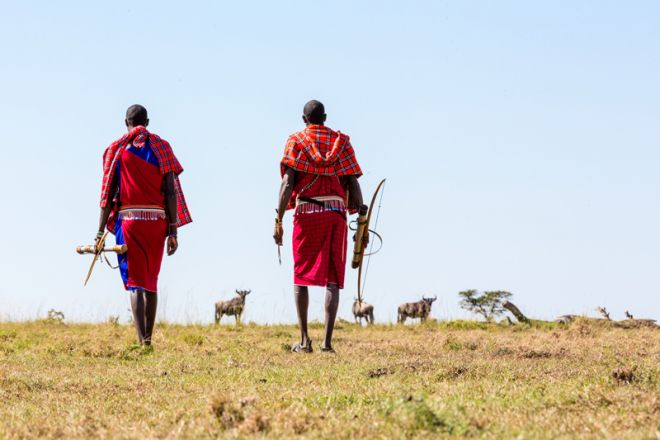Offbeat Mara Camp Maasao Warriors