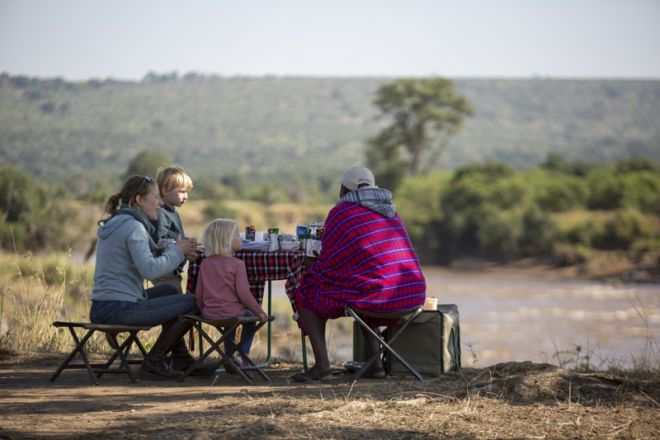 Offbeat Mara Camp Picnic Breakfast