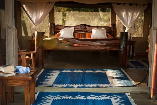 Offbeat Mara Camp Tent Interior