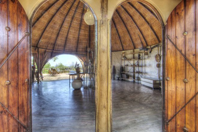 Okuti Camp Atrium