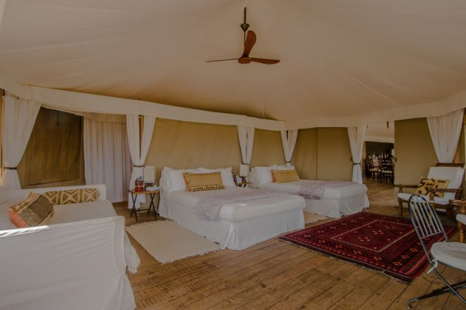 Ol Seki Hemingways Mara Simba Suite Bedroom