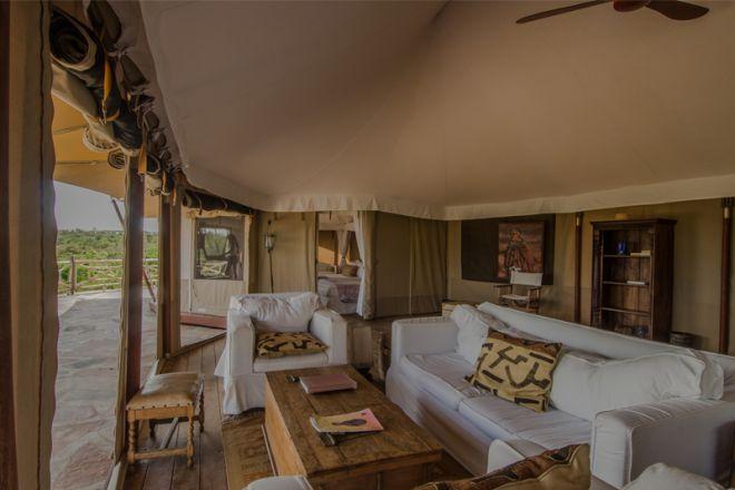 Ol Seki Hemingways Mara Simba Suite Lounge