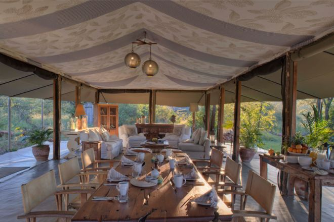 Richards River Camp Dining Tent