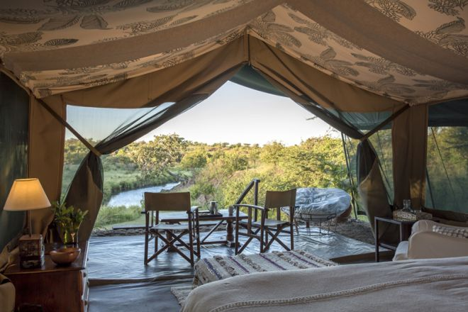 Richards River Camp Tent View