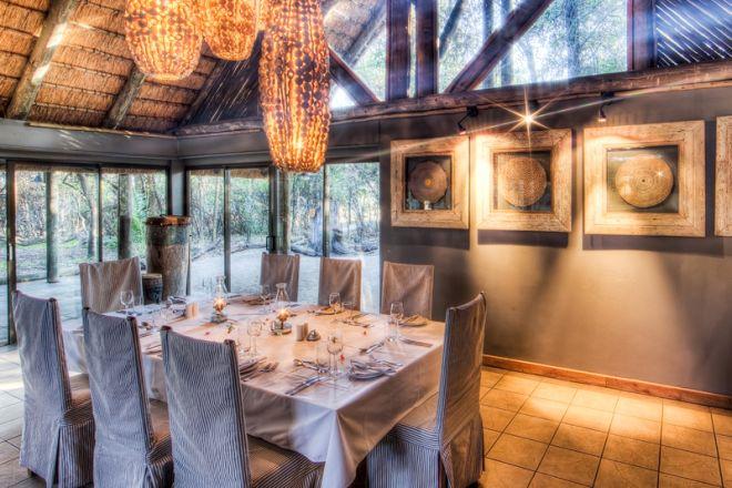 Savute Safari Lodge Dining Room