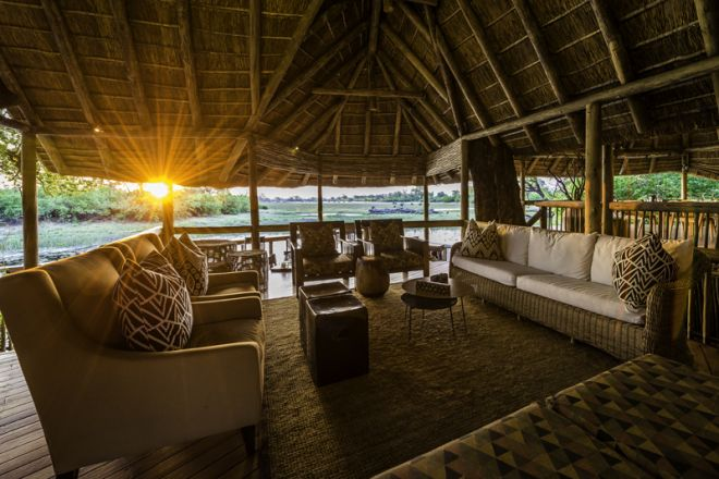 Savuti Camp Lounge