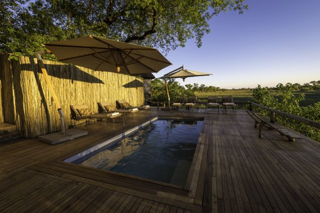 Savuti Camp Pool