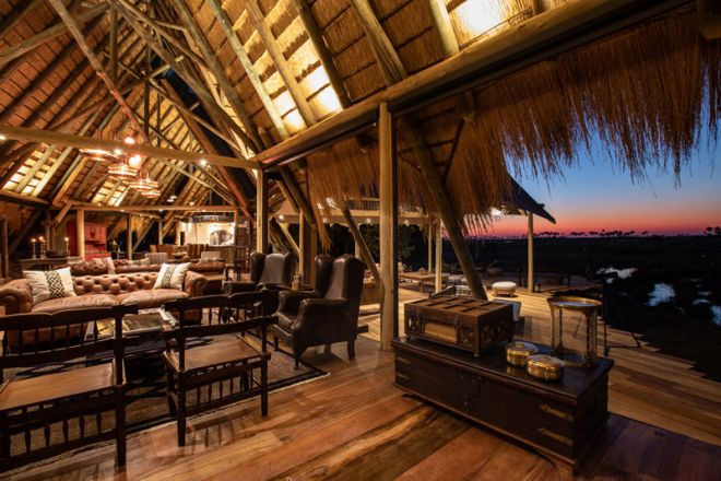 Selinda Camp Lounge View