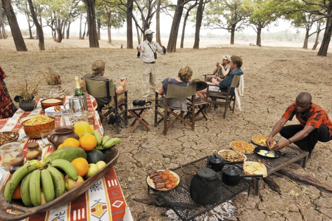 Shenton Safaris Bush Brunch
