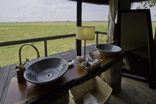 Shumba Camp Bathroom
