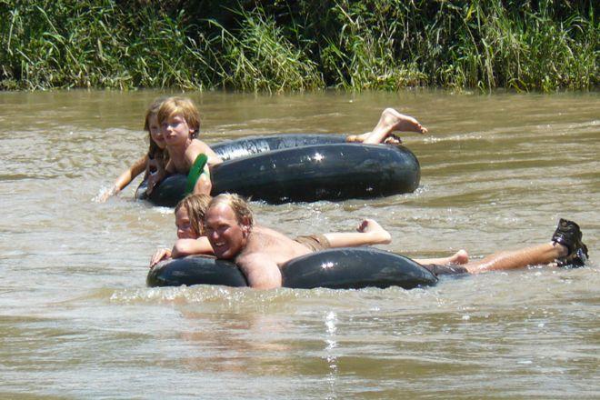 Sosian children tubing