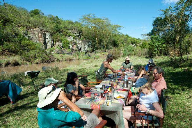 Sosian riverside bush brunch