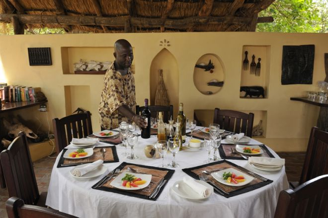 Tafika Camp Dining