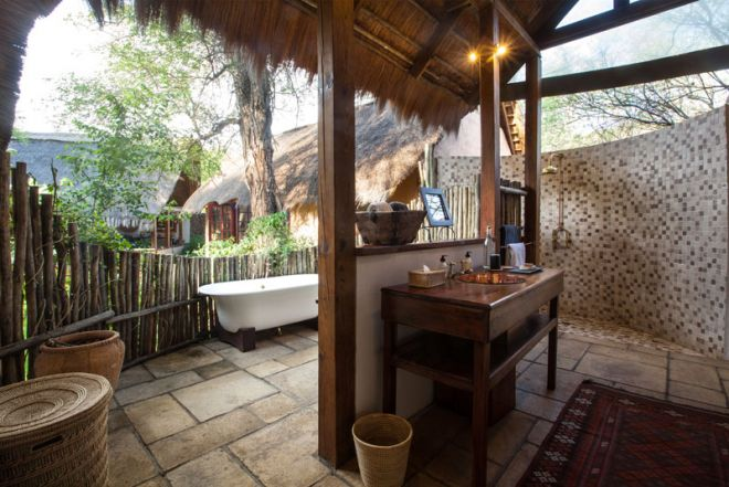 Tongabezi Lodge Garden House Bathroom