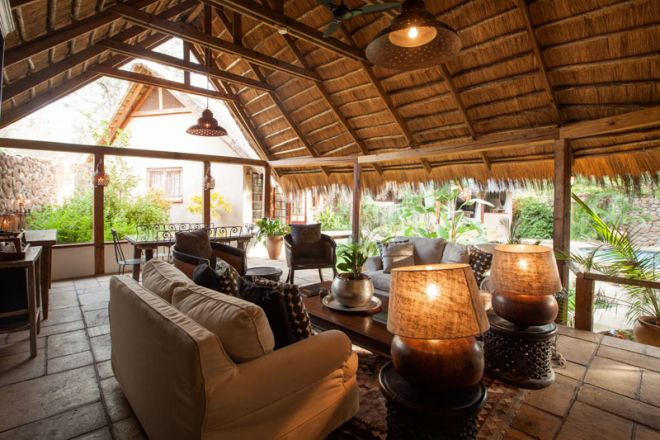 Tongabezi Lodge Garden House Lounge