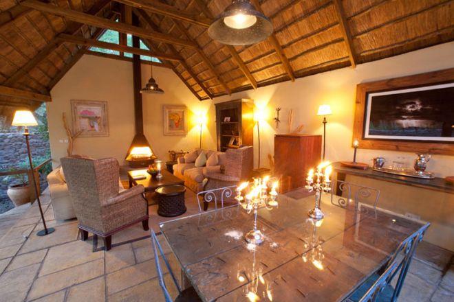 Tongabezi Lodge Garden House Lounge