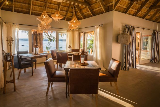 Tongabezi Lodge Dining