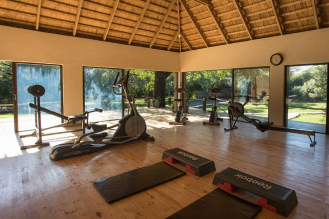Tongabezi Lodge Gym