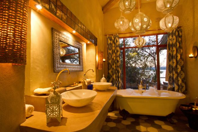 Tongabezi Lodge Nut House Bathroom