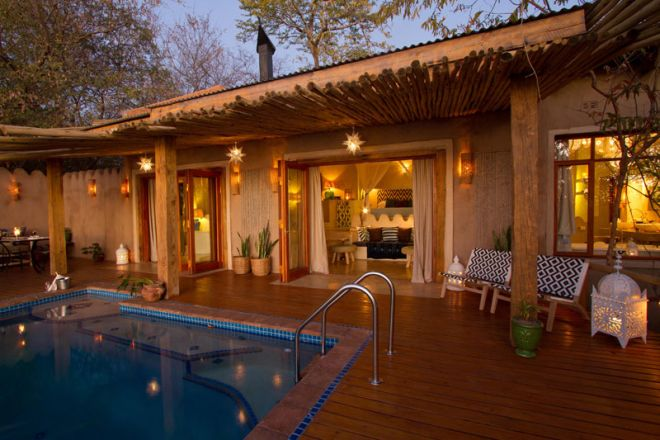 Tongabezi Lodge Nut House Exterior Pool