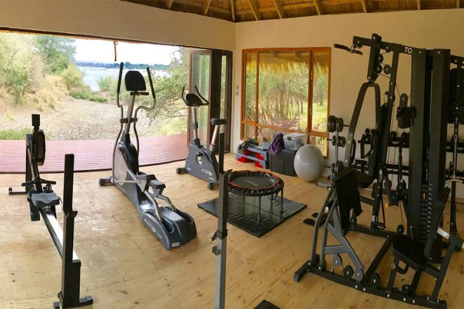 Tongabezi Lodge Tangala House Gym