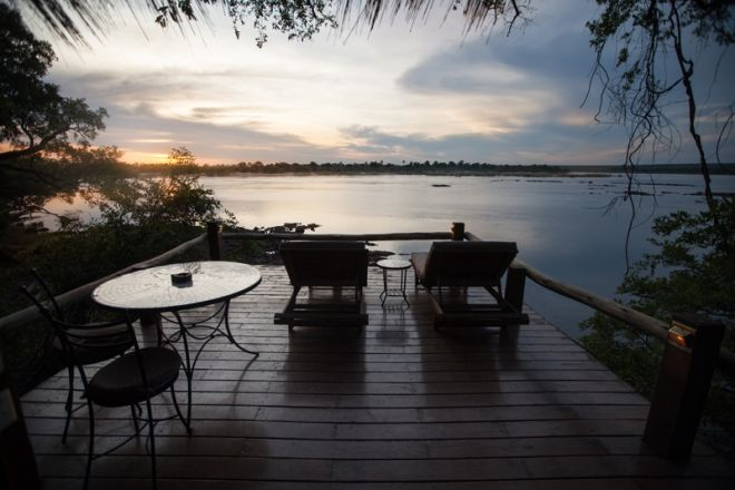 Tongabezi Lodge Tree House Deck View