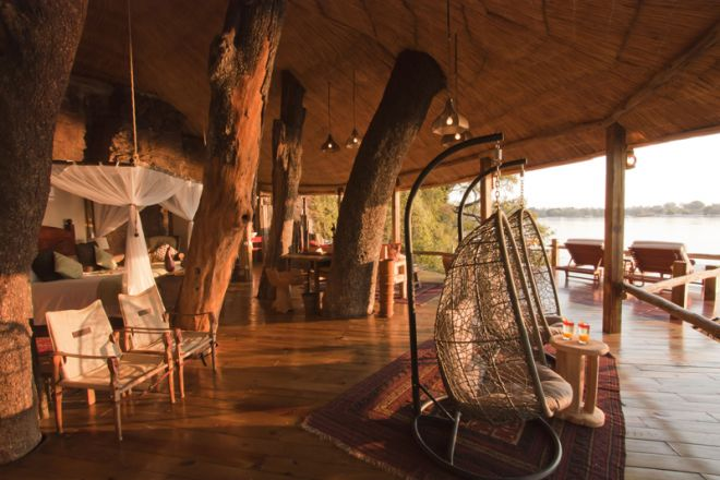 Tongabezi Lodge Tree House Interior